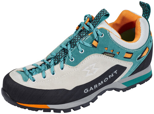 Garmont Dragontail N.Air.G GTX Shoes Women Light Grey/Teal Green Schuhgröße UK 5